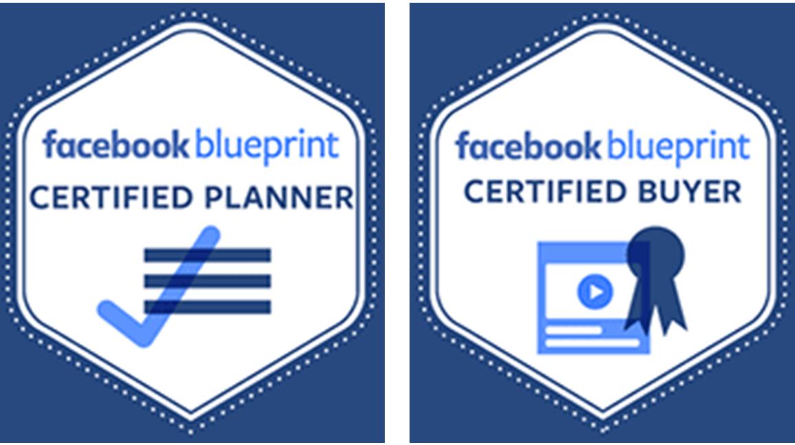 Swiss Online Publishing Mitarbeiter verfügen über die Facebook blueprint Zertifizierung.