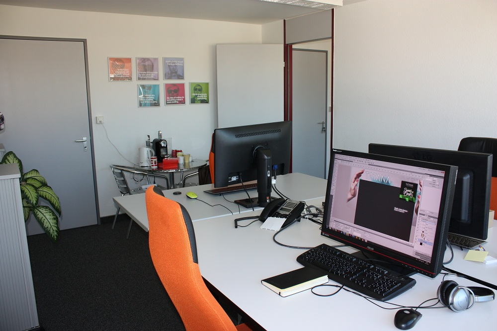 Das erste Büro, Zürich im Mai 2010